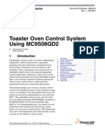 Toaster Oven Control System