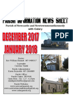 Dec 2017/Jan 2018 Parish Information Newsletter (PINS)
