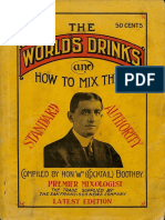 The World s Drinks and How to Mix Them