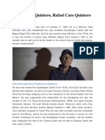 Rafael Caro Quintero, Rafael Caro Quintero Biography