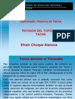 Toponimo Tacna