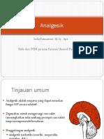 Kimia medisinal Analgetik