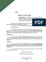 Edital 103 GRE Unioeste