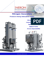 Nitrogen PSA Generators