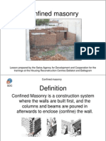 Confined Masonry Training Pakistan