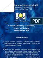 PPT Steven Johnson Syndrome Dan Toxic Epidermal Nekrolysis 4 OKT FINAL