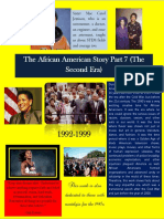 The African American Story Part 7 (The Second Era)