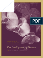 Maeterlinck the Intelligence of Flowers