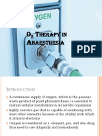 O2 Therapy in Anaesthesia