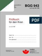 Prüfbuch Für Den Manipulatorkran