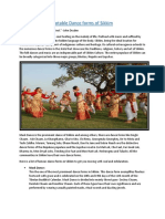 Notable Dance Forms of Sikkim