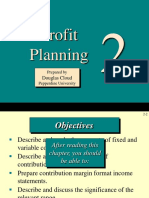 Managerial Accounting Profit Planning ch02