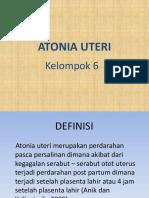 Ppt Atonia Uteri