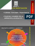 Planificación y Calidad Universitaria