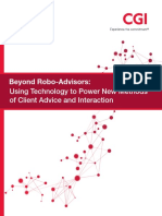 Robo Advisor Automated Advice Platform Cgi Patpatia White Paper