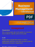 Introduction to Management - Class