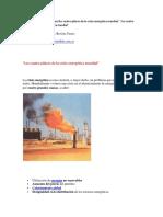 Los Cuatro Pilares de La Crisis Energética Mundial
