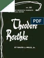 [Ralph J. Mills Jr.] Theodore Roethke(BookFi)