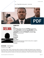 Selma Movie Review & Film Summary (2014) | Roger Ebert