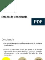 2. Estado de Conciencia