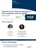 What are the Risks of Non-Compliance with the GDPR?