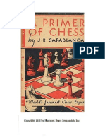 A Primer of Chess - a JR; 1935