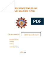 Informe de Compactacion