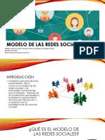 8 - Modelo de Las Redes Sociales