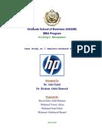 HP Case Analysis 2017_Mosad Saber