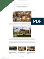 Arsitektur Rumah Kayu Minimalis – Jasa Kontraktor Dan Konstruksi