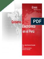 NE Lectura Gobierno Electrónico y Sociedad de La Información
