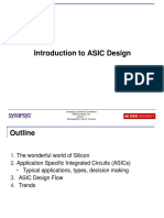 1. Introduction to ASIC Design