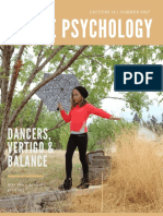 Dance Psychology Section 4 Lecture 14 Dance Vertigo & Balance Compressed