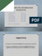 Tarea 3 Criterios de Estabilidad de Routh