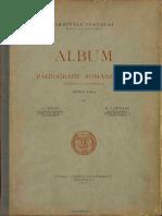 Album de Paleografie Romanească Scrierea Chirilică PDF