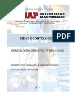 Cie 10 - Trabajo