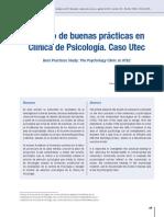 Estudio de buenas prácticas en Clínica de Psicología.
