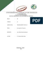 Investigación Formativa 01 U02