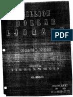 Million Dollar Library Master Index