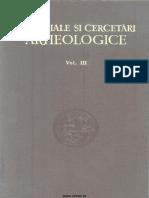 Materiale Cercetari Arheologice III 1957
