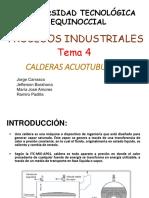 Calderas Acuotuburales EXPO