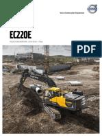 Fisa Tehnica Excavator