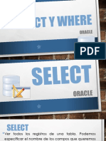 Select y Where (Oracle)