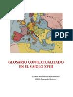 Glosario Contextualizado en El s Siglo Xviii