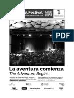 Diario Del Festival Internacional de Cine de Mar Del Plata - #01