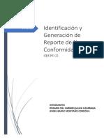 Identificación y Generación de No Conformidades _ Grupo 22