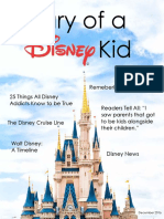 diary of a disney kid magazine-- lindskog