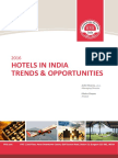 HVS 2016 Hotels in India Trends Opportunities