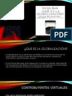 Beck. U. Globalizacion