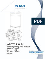 Manual for Pump
